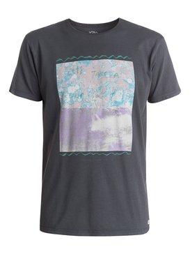 Garment Dyed Green Pancakes - T-Shirt  EQYZT03400