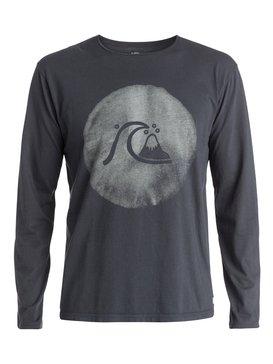 Garment Dyed Ink Bubble - Long Sleeve T-Shirt  EQYZT03409