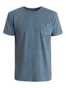 Acid Man Stripe - Stripe Short Sleeve Crew  EQYZT03450