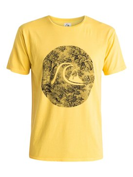 Garment Dyed Sunset Tunels - T-Shirt  EQYZT03610