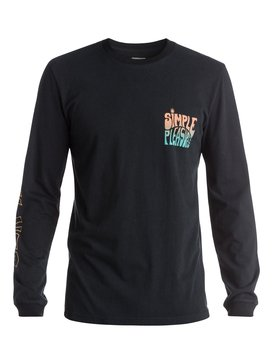 Simple Pleasures - Long Sleeve T-Shirt  EQYZT03670