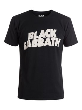 Quiksilver Music Collab Black Sabbath Classic - T-Shirt  EQYZT04132