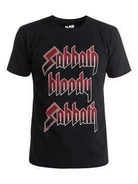 Quiksilver Music Collab Sabbath Bloody Sabbath - T-Shirt  EQYZT04133