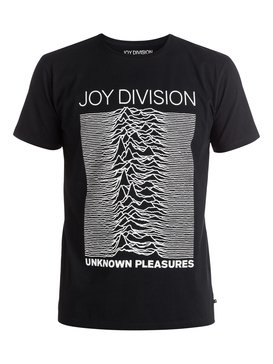 Quiksilver Music Collab Joy Division Unknown Pleasures - T-Shirt  EQYZT04135
