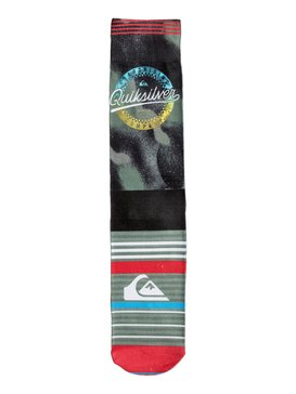 Quiksilver - Printed Crew Socks  PS006945A