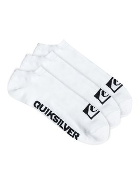 Quiksilver Logo - No-Show Socks - 3 Pack  PS050509T