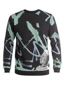 Pop Grime Pullover Sweatshirt for Men - Quiksilver