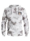 War Paint Tie Dyed Pullover Sweatshirt for Men - Quiksilver