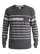 Snit Crew Stripe Sweatshirt for Men - Quiksilver