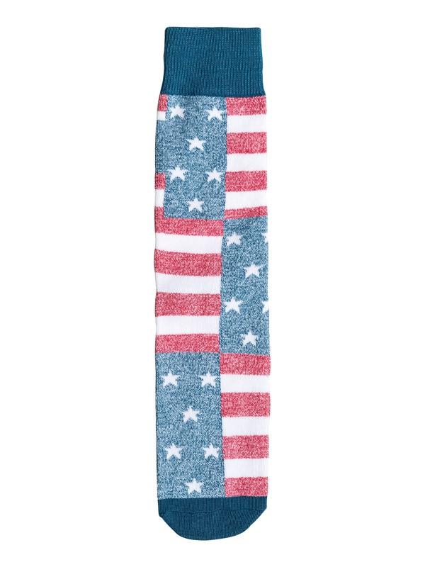 0 Americana Crew Socks  06262A Quiksilver