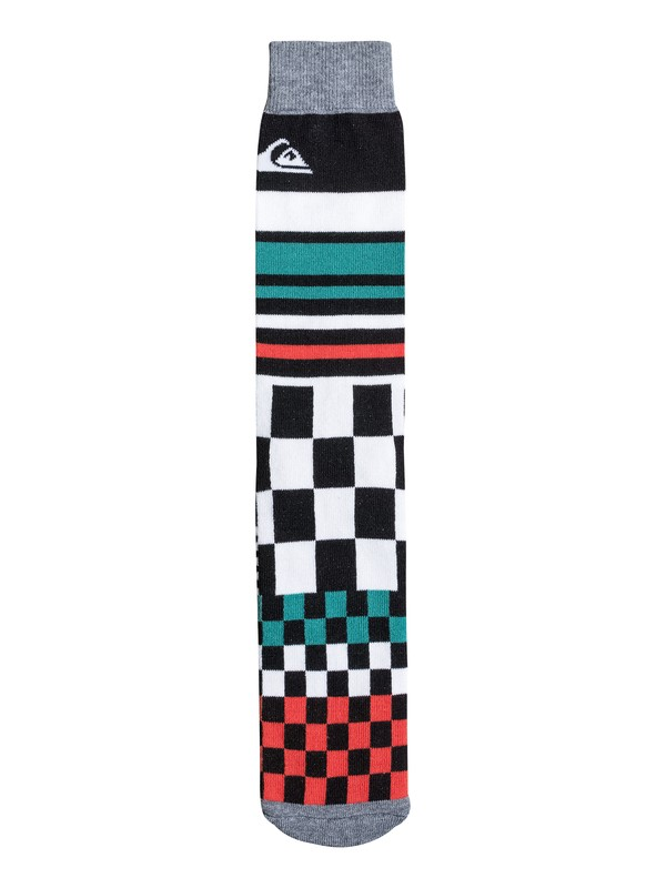 0 The Print Crew Socks  06289A Quiksilver