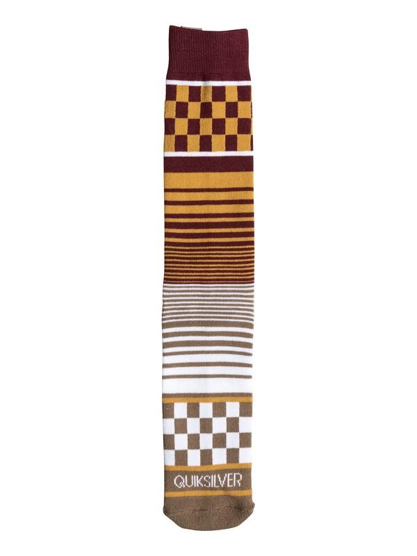 0 Multi Pattern Crew Socks  06352A Quiksilver