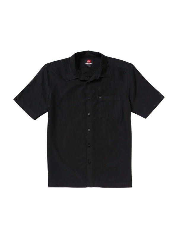 0 Aloha Smooth Short Sleeve Shirt  109262 Quiksilver