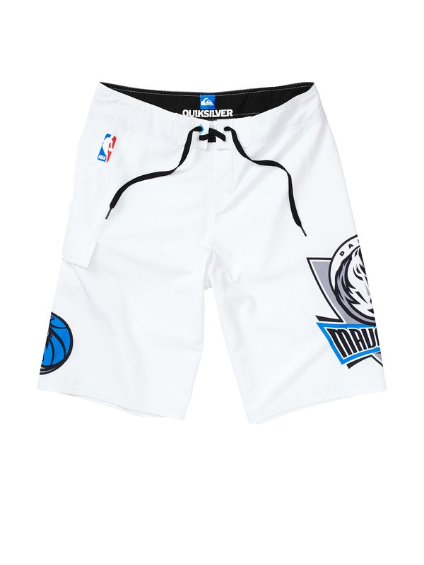 0 Boys 8-16 Mavericks NBA Boardshorts  201056 Quiksilver