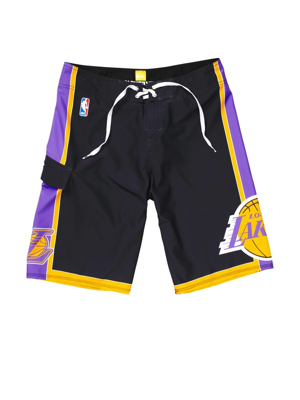 0 Boys 8-16 Lakers NBA Boardshorts  201058 Quiksilver