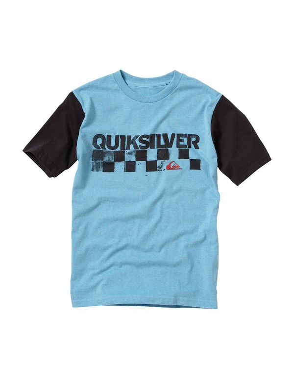 0 Boys 8-16 Checkers T-Shirt  212JQUE3 Quiksilver