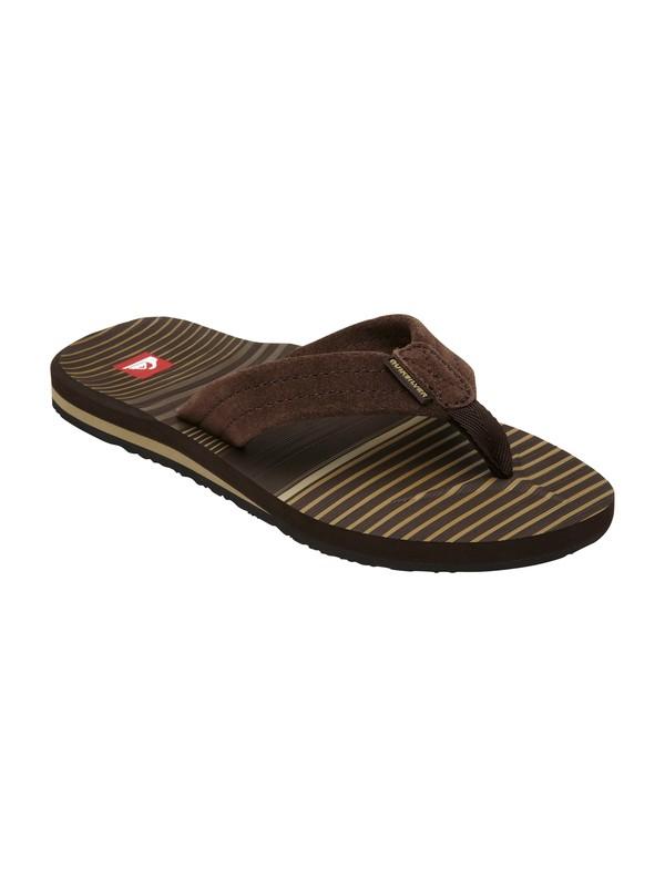 0 Boys 8-16 Carver Suede Sandals  257054 Quiksilver