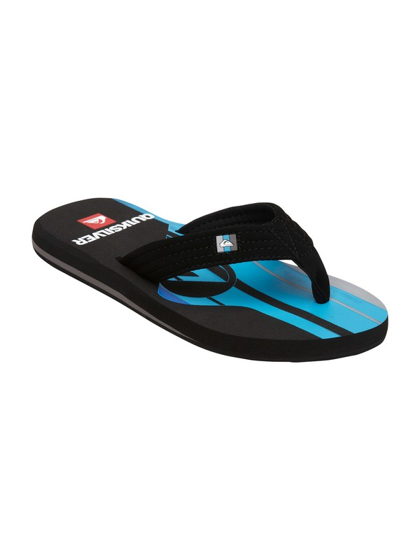 0 Boys 8-16 Foundation Cush Sandals  257129 Quiksilver