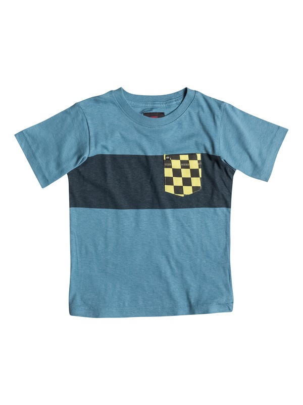 0 Toddler Pattern Quik Pocket T-Shirt  40444025 Quiksilver