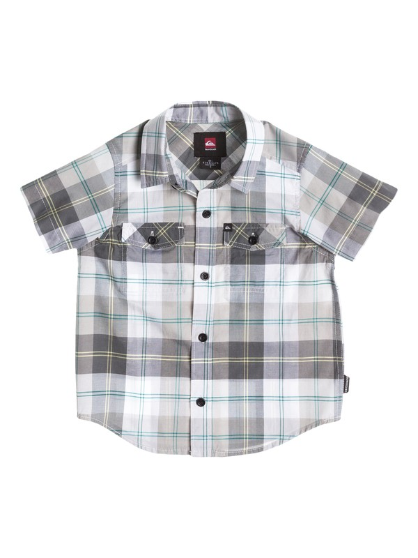 0 Toddler Camp Plaid Shirt  40444035 Quiksilver
