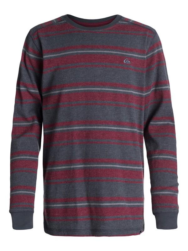 0 Boys 2-4  Snit Stripe Sweater  40444082 Quiksilver