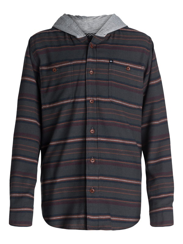 0 Boys 2-4 Pelican Flannel Shirt  40444094 Quiksilver