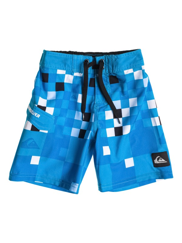 0 Toddler Check Block Boardshorts  40445007 Quiksilver