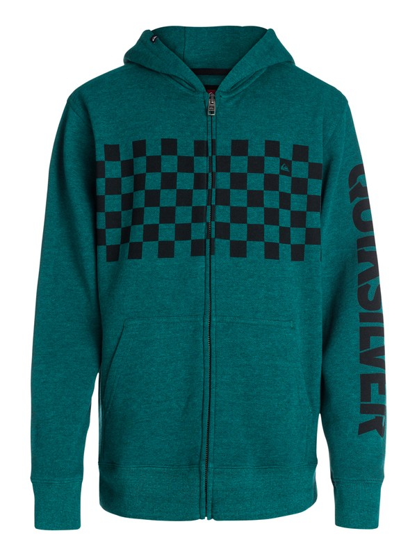 0 Boys 4-7 Checker Hoody  40454009 Quiksilver