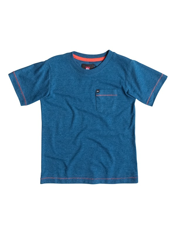 0 Boys 4-7 Score Core Heather T-Shirt  40454020 Quiksilver