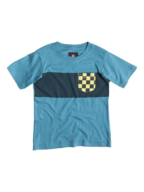0 Boys 4-7 Pattern Quik Pocket T-Shirt  40454025 Quiksilver