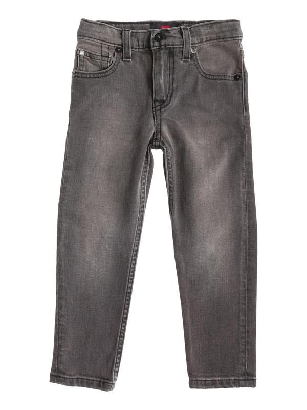 0 Boys 4-7 Distortion Slim Jeans Black 40455023 Quiksilver