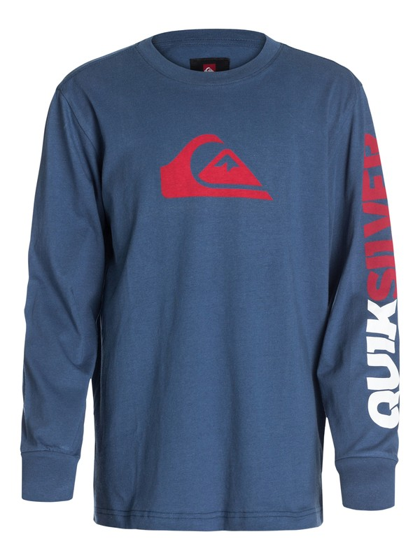 0 Boys 8-16 Mountain And Wave Long SLeeve Tee  40464003 Quiksilver