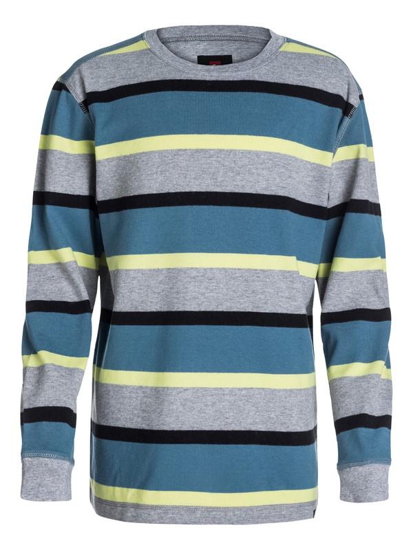 0 Boys 8-16 Snit Stripe Sweatshirt  40464017 Quiksilver