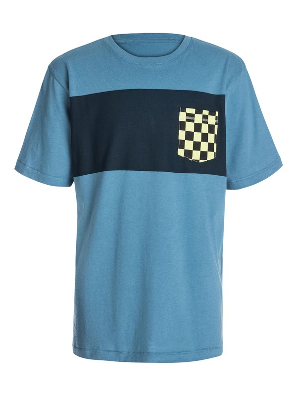 0 Boys 8-16 Pattern Pocket T-Shirt  40464025 Quiksilver