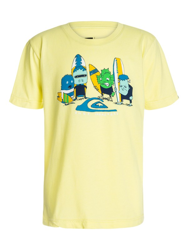 0 Boys 8-16 Surf Monsters Tee  40464065 Quiksilver