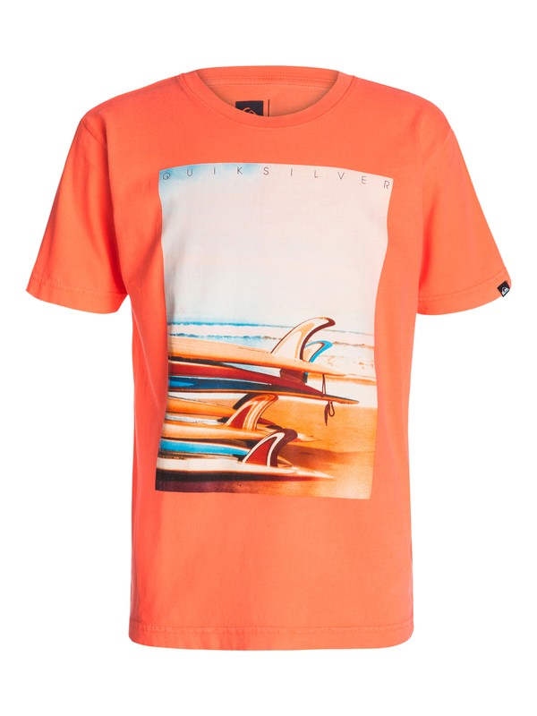 0 Boys 8-16 Surf Stack T-Shirt  40464068 Quiksilver