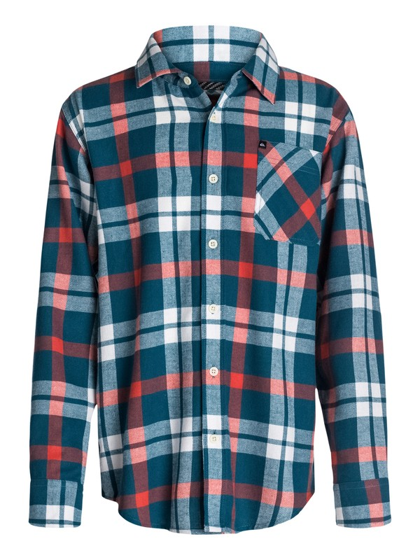0 Boys 8-16 Viking Flannel Shirt  40464093 Quiksilver