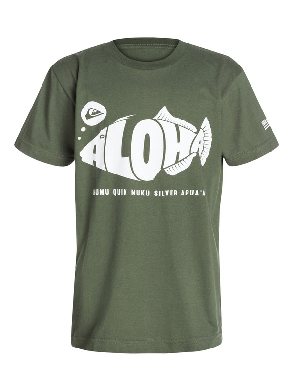 0 Boys 8-16 Humu T-Shirt  40464192 Quiksilver