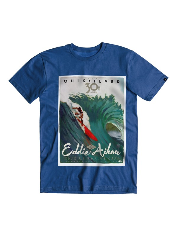 0 Boys 8-16 Aikau Poster Eddie Aikau T-Shirt  40464219 Quiksilver