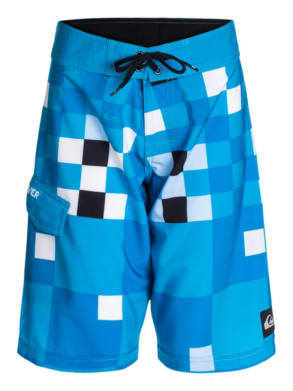 0 Boys 8-16 Check Block Boardshorts  40465007 Quiksilver