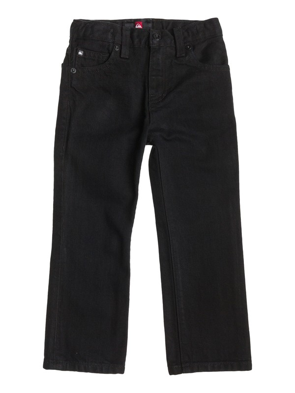 0 Boys 8-16 Revolver Straight Jeans Black 40465024 Quiksilver