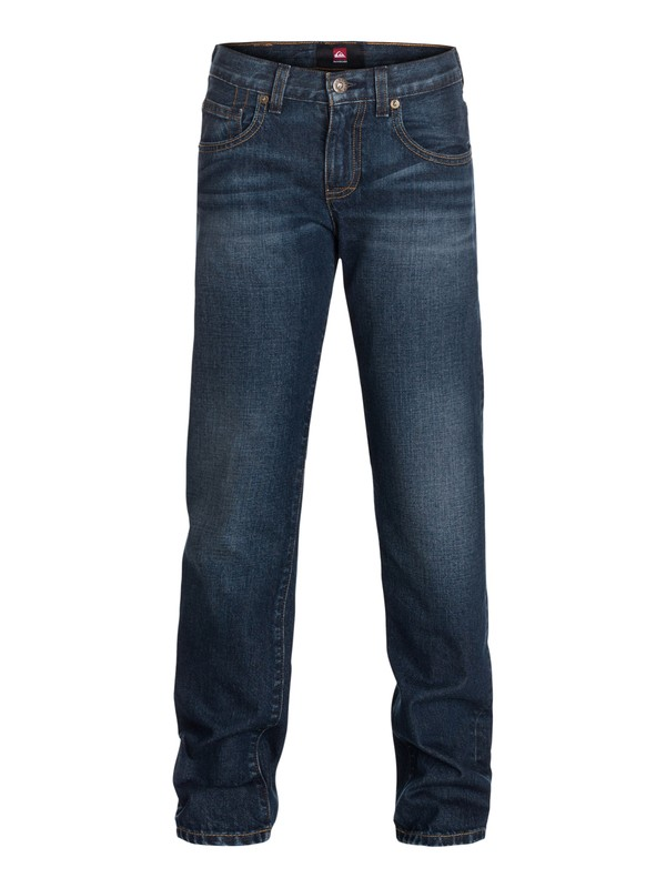 0 Boys 8-16 Revolver Straight Jeans Black 40465024 Quiksilver