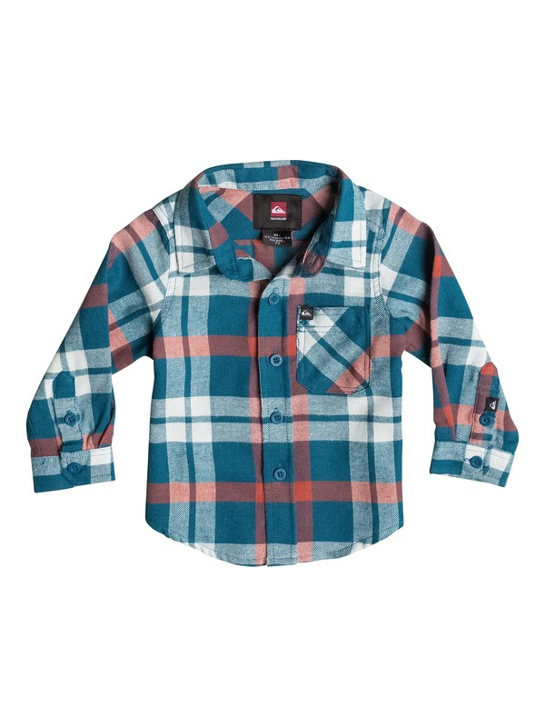 0 Baby Viking Flannel Shirt  40474093 Quiksilver