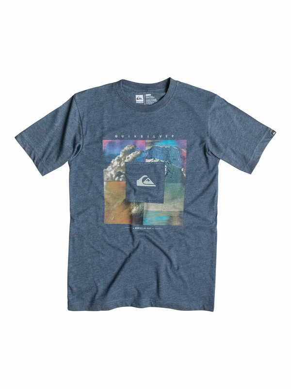 0 Boys 2-4 Quad T-Shirt  40544065 Quiksilver