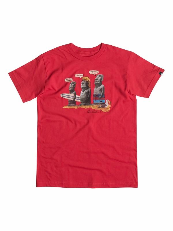 0 Boys 2-4 Easter Island T-Shirt  40544147 Quiksilver