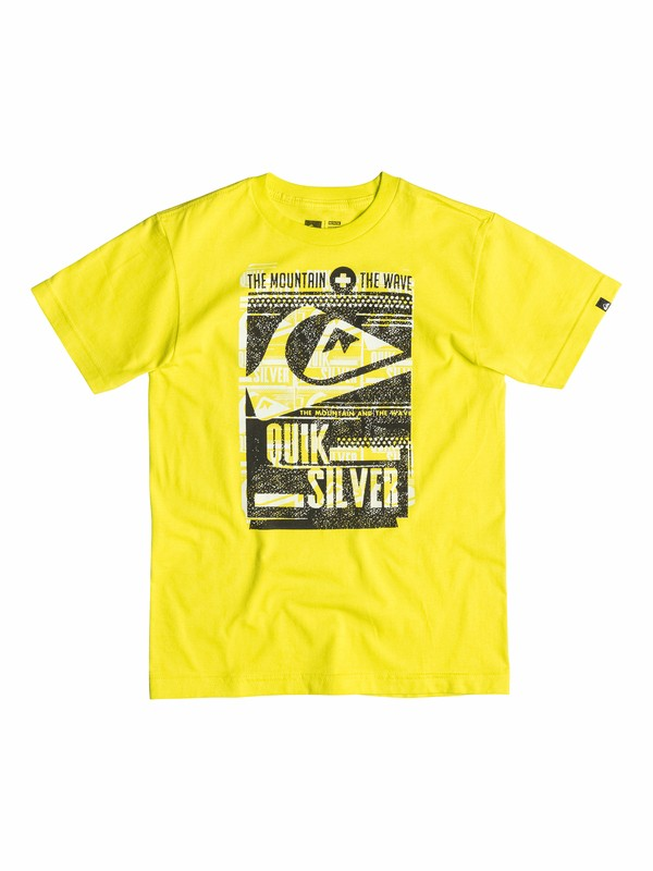 0 Boys 2-4 Save Waves T-Shirt  40544149 Quiksilver