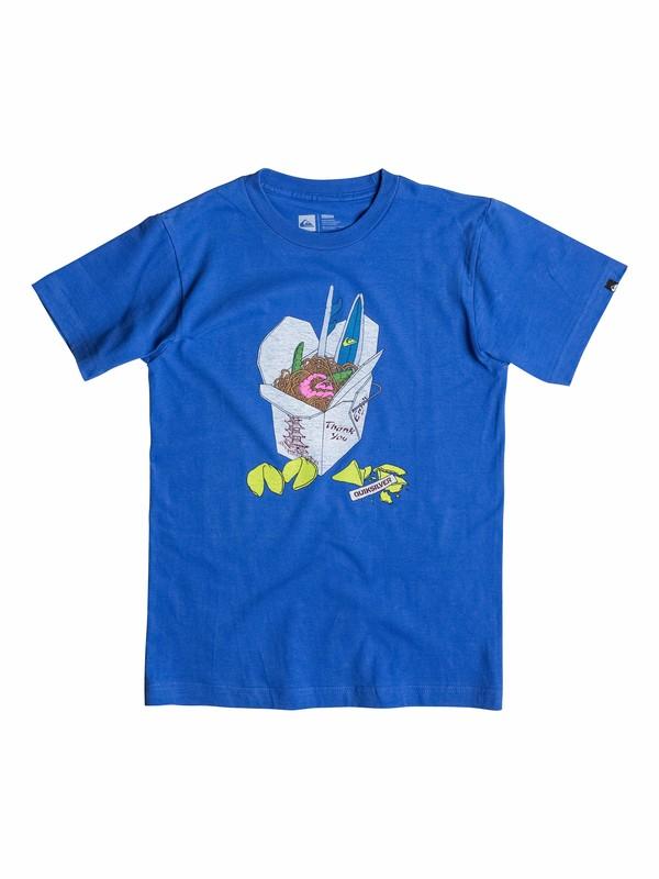 0 Boys 2-4 Takeout T-Shirt  40544151 Quiksilver