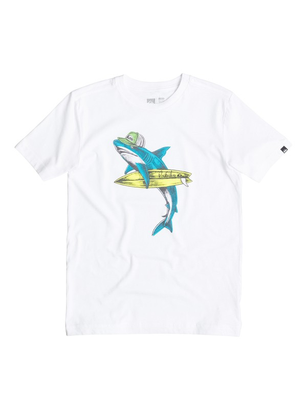 0 Boys 2-4 Sharky T-Shirt  40544170 Quiksilver