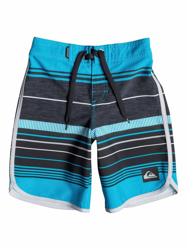 0 Boys 2-4 Pacific Stripe Boardshorts  40545005 Quiksilver