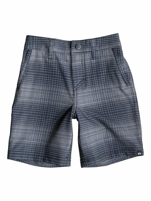 0 Boys 2-4 Everyday Plaid  Amphibian Shorts  40545099 Quiksilver
